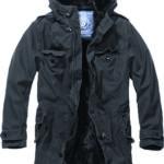 Brandit BW Parka Winterjacke 3137-2-L schwarz alle Größen
