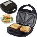 Syntrox SM-1300W Sandwichmaker mit austauschbaren Backplatten